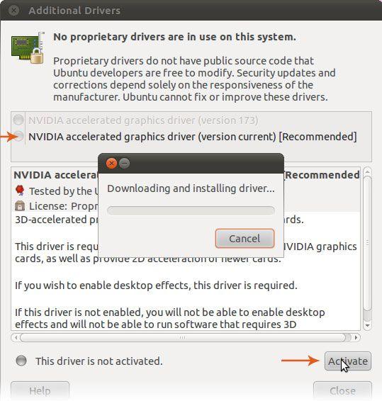 Como instalar el driver de nvidia y compiz en ubuntu 1010 subinet paso fandeluxe Choice Image