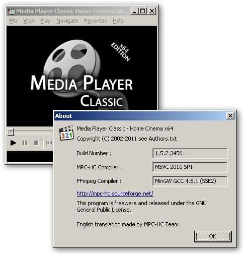 Reproductor Media Player Classic