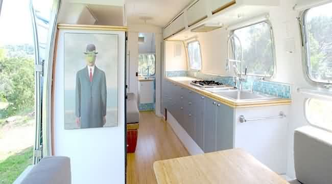 Tradewind Airstream 1978, caravanas restauradas y sostenibles